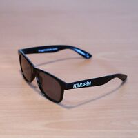 KINGPIN Skate Supply Shades Gloss Black Spicoli Skateboard Sunglasses Eyewear
