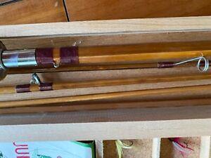 Vintage Bamboo Fly Fishing Rod Set Japan