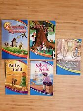 LOT OF 5 A BEKA 2ND GRADE READERS - GREAT FOR HOMESCHOOLING OR READING PRACTICE!