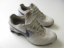 Women's NIKE 'Shox Deliver '09' Sz 9 US Runners VGCon White | 3+ Extra 10% Off