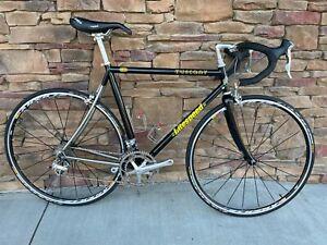 Litespeed Tuscany Titanium Road Bike 55cm Shimano Dura-Ace Mavic Aksium 3T