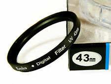 Kenko 43mm UV Filtro Digitale lente protezione per filettatura del filtro 43mm-UK STOCK