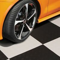 "FlooringInc Diamond Flex Nitro Garage Flooring Tiles, 20.5"" x 20.5"", Single Tile"