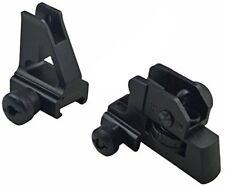 Detachable Sturdy Mudcat Iron Sight Match Rear & High Profile Front Sight by GBO