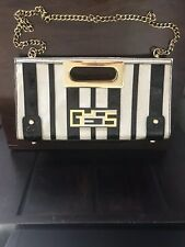 GUESS Genuine Shoulder / Clutch Handbag Bag With Chain New!