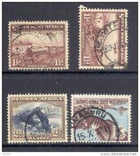 SOUTH WEST AFRICA, postmarks Karasburg, Grootfontein, Luderitz, Omahuru (D)