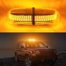 "12"" 240 LED Car Truck Roof Top Emergency Hazard Warning Flash Strobe Light Amber"
