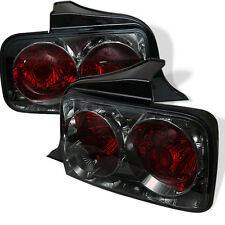 Pair Ford Mustang 05-09 Altezza Euro Tail Lights Lamps Smoke Lens 1 Yr Warranty