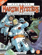 Martin Mystere 03 Uzay Mekigi / Atlantis Imkansizliklar Dedektifi