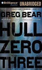 Hull Zero Three by Greg Bear (2011, CD, Unabridged)
