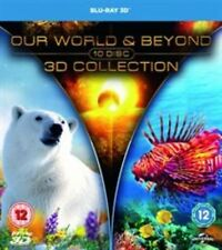 Our World and Beyond 3d Collection Blu-ray 2015 DVD Region 2