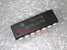 10pcs SN74LS74N HD74LS74AP 74LS74 DIP-14 IC
