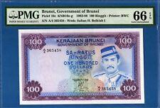 Brunei, 100 Ringgit, 1982, Gem UNC-PMG66EPQ, P10c