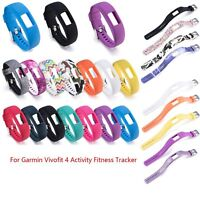 Sport Replacement Silicone Band Wrist Strap for Garmin Vivofit 4 Fitness Tracker