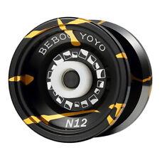 BEBOOYOYO Metal Yoyo Professional Yoyo Set Yo Yo + Glove N12 Yo-Yo Metal Yoyo Cl