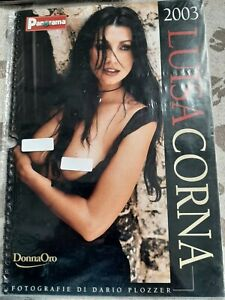 LUISA CORNA calendario PANORAMA 2003 FOTO di  Dario Plozzer