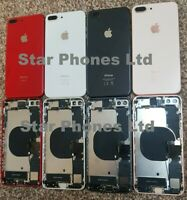 iphone 8 Plus,8+ Back Rear Housing/Chasis With GENUINE Parts & Wireless Charging