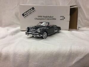Danbury Mint 1:24 1950 Studebaker Champion Convertible No Papers
