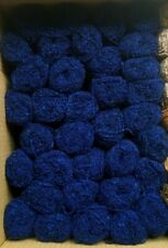 35 oz Total! Vtg Nos Matched Skeins x35 Sirdar Double Boucle Blue Yarn 95% Wool