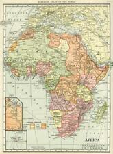Wall Decor Historical Map of Africa Vintage Art Poster 40x29""