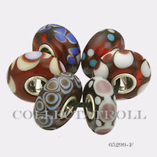 Authentic Trollbeads Sterling Silver  Malawi Kit - 6 Beads 65299 *F*