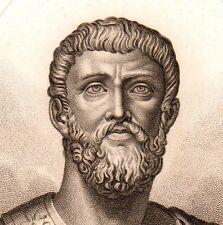 Portrait Général Alcibiade Grèce Greece Athènes Alcibiades Ἀλκιβιάδης  1825