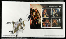 Royal Mail Unaddressed First Day Cover David Bowie Live London SW9 2017 New