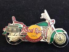 STOCKHOLM GREEN HARLEY MOTORCYCLE  HARD ROCK CAFE PIN