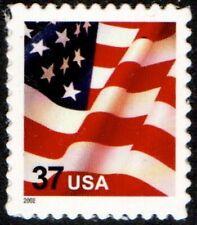 USA Sc. 3630 37c Flag SA MNH pane single