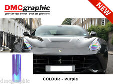 30x100cm Chameleon Purple Car Motorbike Headlight Tail Light Tinting Film PVC
