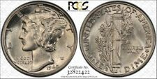 1942-D/D PCGS MS62FB Mercury - RicksCafeAmerican.com
