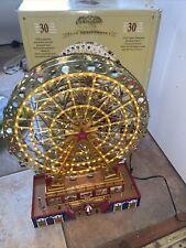 More details for gold abel worlds fair big wheel ferris wheel motorised light up plays songs