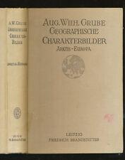 Geographische Charakterbilder 1921  Arktis Europa I August Wilhelm Grube