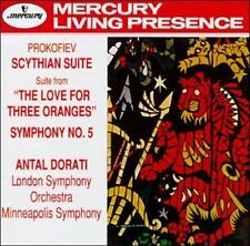 Prokofiev: Scythian Suite; Love for Three Oranges Suite; Symphony No. 5 Sergey