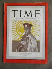 Vintage Time Magazine September 8,1941  Iran's Reza Shah Pavlavi cover