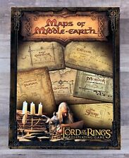 The Lord of the Rings Maps of Middle Earth Role Playing Game 2002 RARE COMPLETE