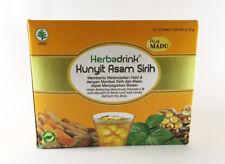 Indonesia HerbaDrink Kunyit Asam Sirih plus Honey, 5 sachets x 25 gr-0.88 oz