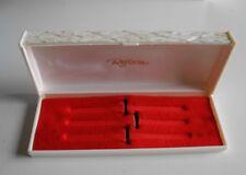 Caja de Set de estilográficos de los años 60 Reform blanca nueva - Box for Pen