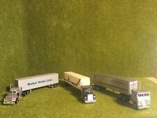 3 US Trucks - Sattelschlepper 1 :87