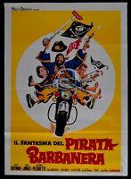 M228 Manifesto 2F Die Gespenst Der Pirat Blackbeard Walt Disney Peter Ustinov
