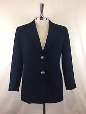 Mixit Co-Ordinates Womens Jacket Made in Australia Dark Blue Size 10