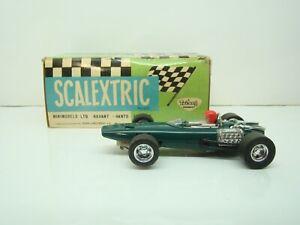 SCALEXTRIC - C37 - EXIN - B.R.M - F1 - VERTE - 1/32 - SLOT CAR - BOITE - ANCIEN