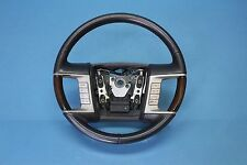 2008 LINCOLN MKZ 3.5L #1 DRIVER STEERING WHEEL ASSEMBLY BLACK WITH SWITCHES OEM
