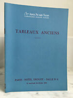 Catalogue Di Vendita Tajan Ader Picard Antico Sala N°6 26 Febbraio 1975
