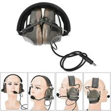 Outdoor Military Green Tactics Basic Version Headset for Paintball Airsoft Games