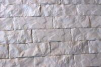 """Concrete gypsum texture stamp mat RUBBER for printing cement  """"BRICK"""""""