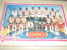 1980-81 Topps Basketball Team Posters Inserts Near Set 14/16