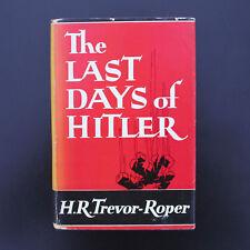 The Last Days of Hitler Hugh Trevor-Roper Nazi Germany WW II History World War 2