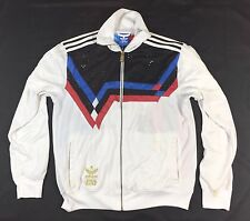 Star Wars Adidas Men's White Multi-Colored Firebird Track Jacket Size L Large