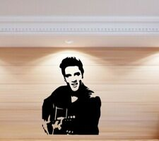 Elvis music kids men  home Wall Art Sticker Vinyl Decals Transfer Bedroom Mural